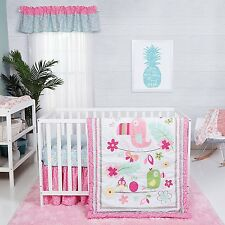 Trend Lab Tropical Tweets 3 PC Baby Nursery Crib Bedding Set NEW