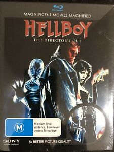 Hellboy Blu-Ray, 2007 Movie Brand New & Sealed The Directors Cut Action Sci-Fi