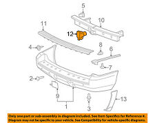 GM OEM Trailer Hitch-Rear Bumper-Plug 12191503