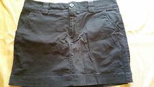 dockers short women size 6 skirt with shorts under skirt mini above knee