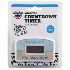 My Vacation Day Countdown Desktop Timer Gift Clock - BigMouth
