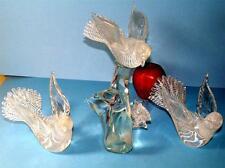 ANTIQUE MURANO ARCHIMEDE SEGUSO ART GLASS LARGE BIRD DOVES SCULPTURE