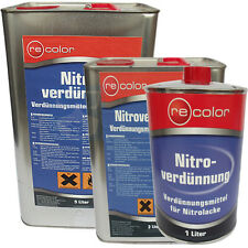 Nitroverdünnung Reiniger 1, 3 oder 5 Liter für Autolack Nitrolack Kunstharzlack