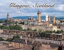 Scotland - GLASGOW - Travel Souvenir Flexible Fridge Magnet
