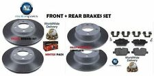 MINI COUNTRYMAN 1.6 ONE COOPER R60 2010-> FRONT + REAR BRAKE DISCS SET AND PADS