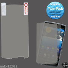 Pantech Discover P9090 Ultra Clear Screen Protector+Cleaning Cloth Twin Pack