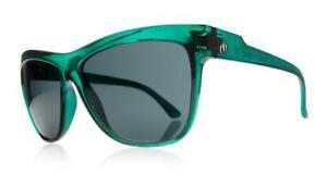 Electric Caffeine Sunglasses with Hard Case - Midnight Green / Grey Gradient