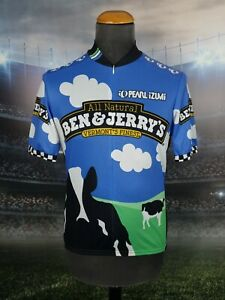 Pearl Izumi Men's  Cycling Jersey Ben & Jerry's Printed Multicolor S-M SS