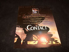 CONTACT 1997 Oscar ad with satellite dishes, Robert Zemeckis, Jodie Foster