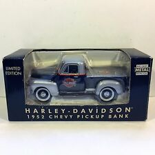New Old Stock NEW ORLEANS Exclusive HARLEY DAVIDSON 1952 Chevy Pickup Truck Bank