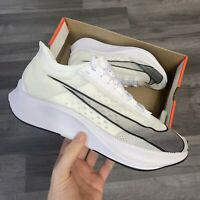 NIKE ZOOM FLY 3 WHITE RUNNING SHOES TRAINERS SIZE UK10 US11 EUR45 AT8240-100