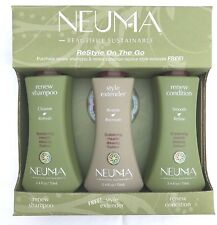 NEUMA RENEW RESTYLE ON THE GO TRAVEL PACK For Colored Hair by NEUMA