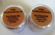 MICA~PIGMENT~TAXIDERMY~PAINT~FISH~BIRD~TROUT~#1684~RED~ORANGE~LOOSE POWDER~RMC