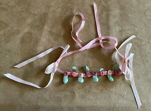 Samantha Rosebud Circlet Hair ribbon American girl doll clothing birthday