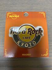 """2019 Japan Hard Rock Cafe Kyoto """"Logo"""" Magnet"""