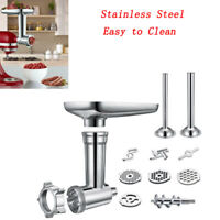 Meat Grinder Kitchen Food Sausage Stuffer Mincer For Kitchen Aid Stand Mixers