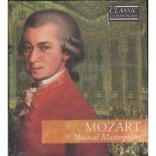MOZART: MUSICAL MASTERPIECES - CD & BOOK (2002) 11 TRACKS