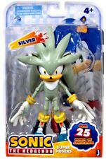 Sonic The Hedgehog Super Posers Silver Action Figure