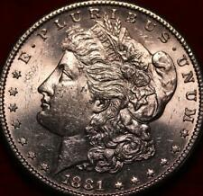 Uncirculated 1881-S San Francisco Mint Silver Morgan Dollar