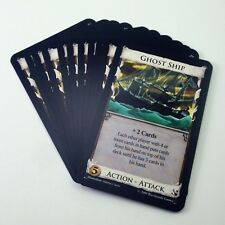 Dominion Seaside expansion COMPLETE GHOST SHIP CARD SET action attack Rio Grande