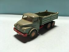 Wiking MAN Diesel Tipper Transport Truck Green/Red 1/87 Scale Rare/Selten