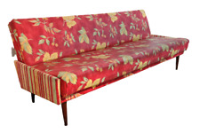 Mid century Couch Bank Sessel Bett chair relaxchair Bettsofa danish 195cm