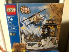 NEW Lego 7417 Orient Expedition Temple of Mount Everest