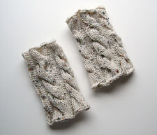 Hand Knitted Boot Cuffs Toppers Winter Warm Australia Made