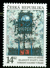 Czech Republic Art and Artists Stamps