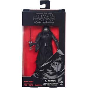 "Star Wars Episode VII 6"" Black Figure Wave 01 - Kylo Ren- Damaged Box"