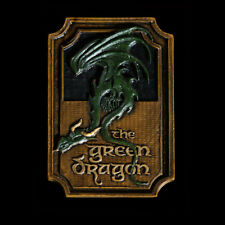 Lotr The Green Dragon Sign Magnet Weta Rare Earth Magnet on Back New