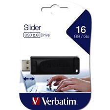 Clef usb 16go Verbatim cle usb 16go Store N Go Slider