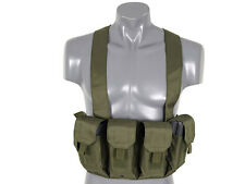 CHEST RIG PARA M4 M16 GREEN OD CHALECO TACTICO AIRSOFT AEG