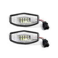 For Honda Accord 2003-2012 Sedan Acura MDX TSX RDX 2013~LED License Plate Light