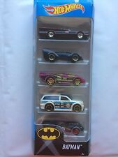 Hot Wheels Batman 5 Pack 2016