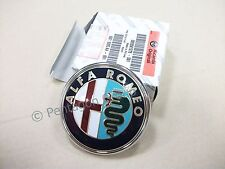 New Genuine Alfa Romeo Brera Spider -2008 Boot Badge Emblem Logo 50501278