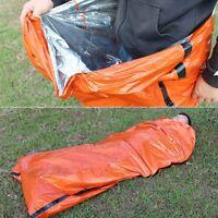 Tragbare Notfall-Rettungs-thermische Kampierende wandernde Schlafsack im Freien