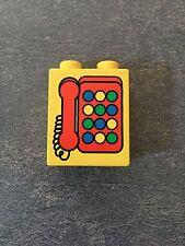 LEGO® Duplo Brick 1x2x2 Telephone Telefon 4066pb102 2317