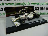 FOR15 eaglemoss 1/43 F1 BRESIL Formule 1 Brawn GP Mercedes BGP Barrichello 2009