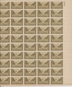 US SCOTT 934 PANE OF 50 UNITED STATES ARMY STAMPS 3 CENT FACE MNH