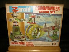 1969 IDEAL ZEROID COMMANDER ACTION SET w ZOGG ROBOT 1960'S EXC.+ IN BOX