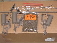 Raccoon Kit  3-DP Traps, 1 DP setter, 1 Bag Bait, 3 stakes + driver & Q-links