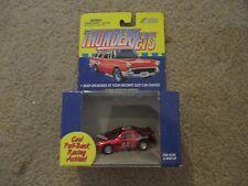Johnny Lightning Thunderjets Thunder Jet Red #84 90's Stock Car Pull back MISB
