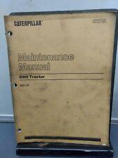 CAT CATERPILLAR D9H  TRACTOR MAINTENANCE  MANUAL