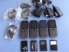 4x Sammlung Konvolut Nokia 100 - Phantom Schwarz (O²-Simlock) Handy   wie neu