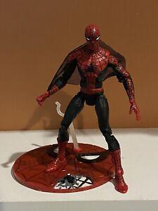 """MARVEL LEGENDS TOYBIZ First Appearance 6"""" Spider-Man Figure Sentinel BAF Series"""
