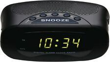 NEW Lenoxx CR21 Clock Radio AM/FM