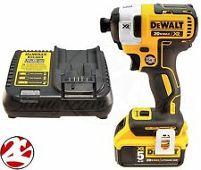 "DeWALT DCF887 20V Max Lithium Ion 3 Speed XR Brushless 1/4"" Impact Driver 5.0 Ah"