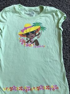 EUC Justice Monkey In Paradise Tee/XS/8