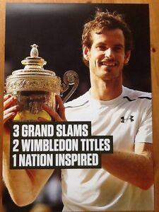 Andy Murray, Tennis, Olympics, Wimbledon, Poster, Davis Cup, Grand slam, Sport